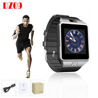 US DZ09 Bluetooth Smart Watch Phone + Camera SIM Card For Android IOS Phones