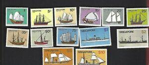 Singapore sc#336-48 (1980) MLH