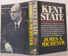 JAMES A. MICHENER Kent State SIGNED BOOK CLUB EDITION
