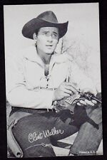 CLINT WALKER PENNY ARCADE CARD   CIRCA EARLY 1950's - EARLY 1960's