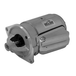 Tuff Stuff Starter 3132A; Chrome 1.9hp OE-Style for 1965-74 Ford 302/351W SBF
