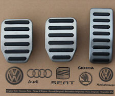 VW Bus T5 original Pedalset Pedale Pedalkappen pedal pads caps Multivan GP T6