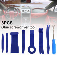 8x Car Trim Clip Removal Tool Door Panel Molding Set Kit Pliers Tools Pry Garage