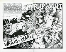 Pulp Vault Reprint #1: Thunder Jim Wade by Kenry Kuttner-1992-1st Printing