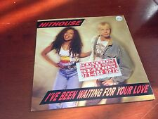 "HITHOUSE - I'VE BEEN WAITING FOR YOUR LOVE  7"" P/SINGLE"