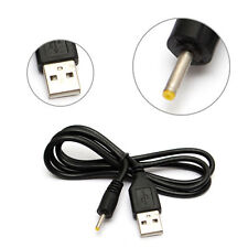 70CM USB-A to 2.5mm Barrel Jack Male DC 5v power charger plug adapter cable lead
