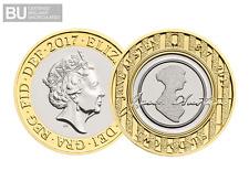 2017 UK Jane Austen CERTIFIED BU £2 [Ref 624N]