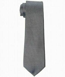 T56 Tommy Hilfiger Men's Gray Micro Silk Tie