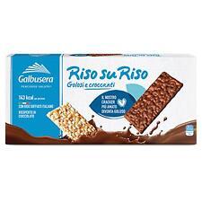 Snack Galbusera Riz Sur Riz Soufflé Enrobé de Chocolat 150 Gr Biscuits