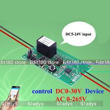 APP 1-Kanal  Funk-Fernbedienung System WIFI Delay Android IOS Iphone 10A AC 220V