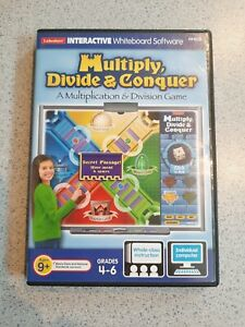 Lakeshore Interactive Whiteboard Software HH639 Multiply, Divide & Conquer Game