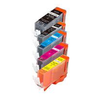 5 New Ink Set use for Canon 225 226 (BK B C M Y) Pixma MG5320 MX882 MX892 iP4820