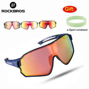 ROCKBROS Polarized BIke Glasses Outdoor Cycling Goggles Sports Sunglasses UV400