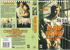 BLIND JUSTICE QUANDO LA GIUSTIZIA E' CIECA (1986) vhs ex noleggio