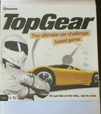 Top Gear The Ultimate Car Challenge Board Game Imagination 2008 Complete