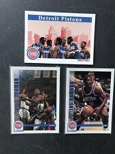 NBA Hoops 92/93 Team Set Detroit Pistons Hof Isiah Thomas,  Rodman Joe Dumars.