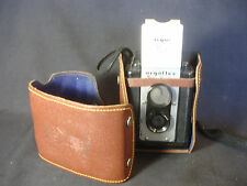 Old Vtg ARGUS 75mm Seventy Five Lumar Box Camera Made In USA Leather Case