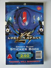 RARE NEW 1998 LOST IN SPACE GROOVY STICKER BOOK ROBOT WILL ROBINSON BLARP SMITH