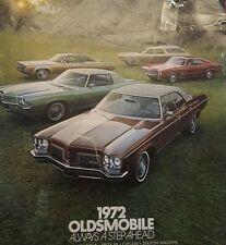 1972 Oldsmobile Always A Step Ahead Catalog