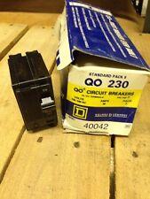 Square D QO 230 30 Amp Circuit Breakers Box Of 5