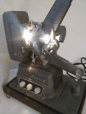 Vintage Revere S-16 Sound Projector 16mm Movie Film w/ Amp & Speaker Case