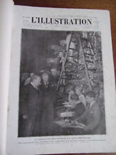 L 'ILLUSTRATION 1930  du 4 janv ( n°4531) au 29 mars ( n°4543)