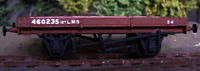 Cambrian C93 OO Gauge LMS 12ton One Plank Open Wagon (D1986) Wagon Kit