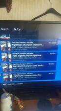 ps3 accout with games