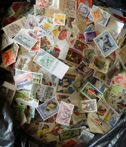 1000+ WORLD/COMMONWEALTH OFF PAPER  UNSORTED  AS IT COMES BUY 2 GET 500+ FREE