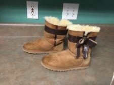 Ugg Australia Women's 1003174 Josette Sheepskin Boots Chestnut Size 5 (CON21)