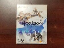 Playstation 4 Horizon Zero Dawn Limited Edition + Art Book JP PS4 Game US Seller