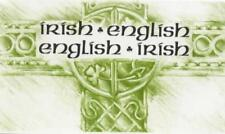 Irish-English, English-Irish Dictionary by , NEW Book, FREE & FAST Delivery, (Pa