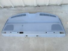 BMW 528i E39 Rear Deck Speaker Cover Panel Gray Behind Rear Seats OEM