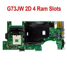 For Asus G73JW Motherboard REV2.0 2D Connector 4 RAM Solts 60-N0UMB1200-A02