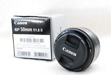 CANON EF 50mm F1.8 II Lens from Japan [Mint]