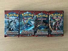 More details for pokémon - crimson invasion booster packs x 24 - brand new/sealed