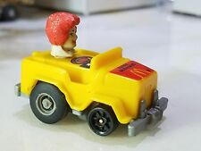 1985 McDonalds Ronald McDonald Head Driving Toy Jeep McDonald's Pullback Plastic