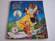 ALBUM PANINI DISNEY , LA BELLE ET LA BETE . 1992 .