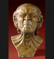 Museum Reproduction The Vexed Man Bust Franz Messerschmidt Art Sculpture
