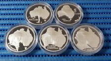 1993 Australia Masterpieces in Silver ( The Explorers )