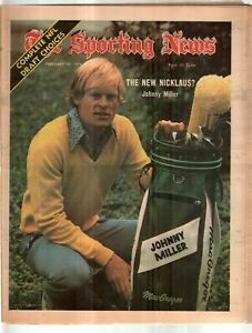 The Sporting News Newspaper February 16, 1974 The New Nicklaus? Johnny Miller G