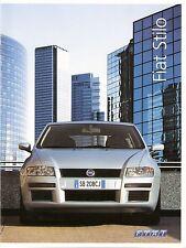 Prospekt / Brochure Fiat Stilo 05/2004