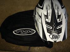THH TX-22 Mx Helmet Matte White/Black Size XL