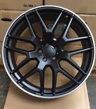 "22"" ML 65 STYLE ALLOY WHEELS TO FIT MERC ML GL R CLASS GLC BLACK"