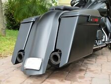 "6"" BAGGER STRETCHED EXTENDED SADDLEBAGS, LIDS  & FENDER  FOR HARLEY DAVIDSON"