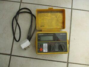 ROBIN KMP 5404DL DIGITAL RCD TESTER WITH 18 TEST RANGES