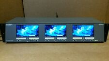 "Panorama DTV MON3-2W/HR  High Resolution Triple 4.3"" Wide Screen"