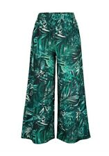 Laura Kent Culotte 3/4 Trousers Size 42 Black Green New