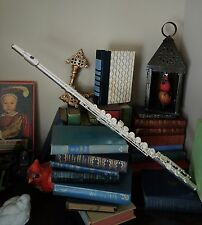 NEW PJ Hardy Advanced Student Model Flute B foot with Offset G, Silver plated