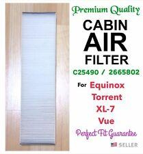Cabin Air Filter C25490 for 05-09 Equinox 06-09 Torrent 02-07 VUE 07-09 XL-7